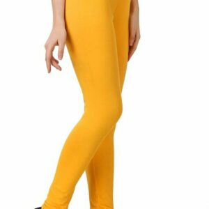 Attractive Solid Cotton Women's Leggings
