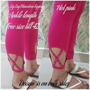Fancy Cotton Spandex Leggings