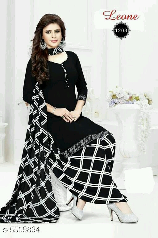 Trendy Printed Suits & Dress Materials for Women