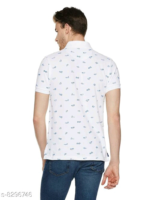 Branded ATC Printed Polo T-Shirt for Men