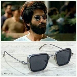 Branded Metal Body Square Kabir Singh Sunglasses