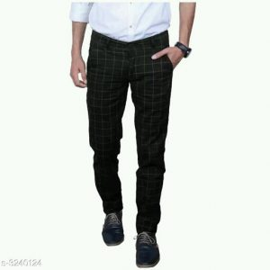 Latest Stylish Men's Checkered Trousers