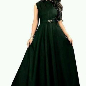Designer Party Wear Western Gown for Girls