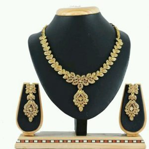 Women's Alloy Necklace and Earrings Set Designs