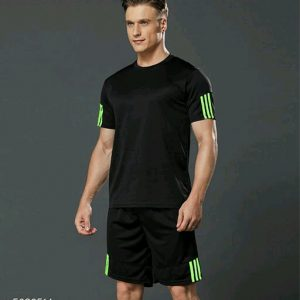 Tracksuit T-Shirt and Shorts Set for Men