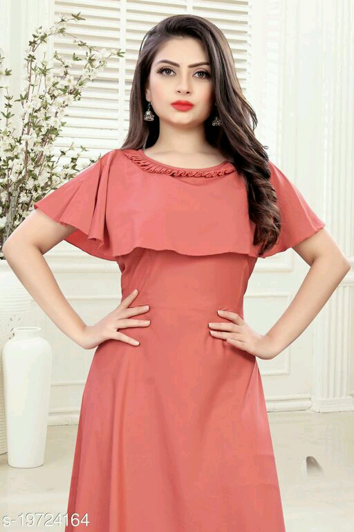 Indo Western Party Wear Girls Dresses